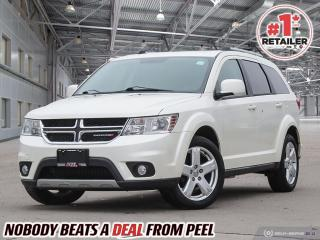 Used 2012 Dodge Journey CREW SXT V6, Sunroof, Camera, H-Seats, CLEAN for sale in Mississauga, ON