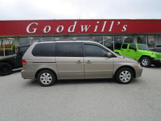 Used 2003 Honda Odyssey ONE FAMILY VEHICLE! VERY WELL LOOKED AFTER! for sale in Aylmer, ON