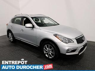 Used 2017 Infiniti QX50 AWD- V6- Toit Ouvrant - Bluetooth - Climatiseur - for sale in Laval, QC