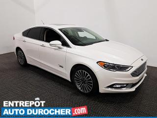 Used 2018 Ford Fusion Energi Apple/Android - Toit Ouvrant - Climatiseur - Cuir for sale in Laval, QC