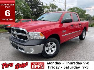 Used 2014 RAM 1500 ST    Crew 4WD   3.6L   Bluetooth   Tow   6 Pass   for sale in St Catharines, ON