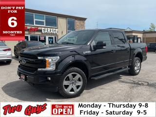 Used 2019 Ford F-150 Lariat Sport   Crew 5.0L 4WD   Nav   Leather   for sale in St Catharines, ON