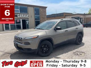Used 2016 Jeep Cherokee Sport | V6 4WD | Hitch | Alloys | Bluetooth | for sale in St Catharines, ON