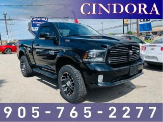 Used 2014 RAM 1500 Sport, 4x4, NAV, Clean Carfax for sale in Caledonia, ON