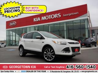 Used 2014 Ford Escape SE 4WD | CLN CRFX | NAV | PANO ROOF | HTD SEATS | for sale in Georgetown, ON