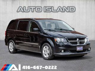 Used 2017 Dodge Grand Caravan CREW**STOW N GO**REAR AIR**ALLOYS for sale in North York, ON