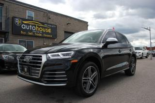 Used 2018 Audi SQ5 FULLY LOADED/PROGRESSIV/QUATTRO/ACCIDENT FREE/ONE OWNER for sale in Newmarket, ON