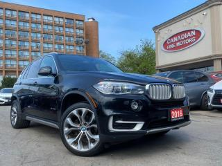 Used 2016 BMW X5 CLEAN CARFAX   NAVI   CAM   PANO ROOF    SPORT PKG   for sale in Scarborough, ON