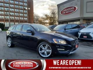 Used 2017 Volvo V60 CLEAN CARFAX | AWD | NAVI | CAM | ROOF | 4 NEW SNOW TIRES* | for sale in Scarborough, ON