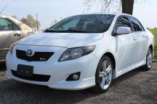 Used 2010 Toyota Corolla XRS for sale in New Hamburg, ON