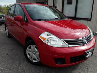 Used 2011 Nissan Versa 1.8 S Hatchback - ONLY 97KM! ACCIDENT FREE! CERTIFIED! for sale in Kitchener, ON