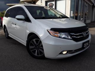 Used 2014 Honda Odyssey Touring - LEATHER! NAV! BACK-UP CAM! BSM! DVD! 8 PASS! for sale in Kitchener, ON