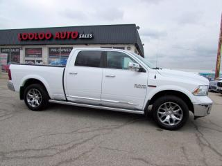 Used 2017 RAM 1500 Laramie Limited Crew Cab 4WD Diesel Navi Camera Certified for sale in Milton, ON
