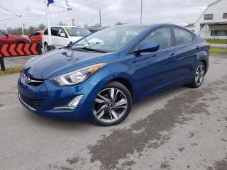 Used 2015 Hyundai Elantra Sport appearance Sport with heated seats, blue-tooth, and Backup camera for sale in Dunnville, ON