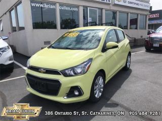 Used 2017 Chevrolet Spark LT  - Certified for sale in St Catharines, ON