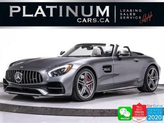 Used 2019 Mercedes-Benz AMG GT C ROADSTER, NAV, CAM, BLUETOOTH for sale in Toronto, ON