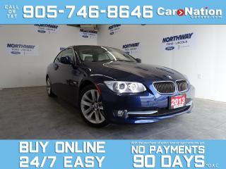 Used 2013 BMW 3 Series 328i | HARD TOP CONVERTIBLE | NAV | ONLY 7,000 KM! for sale in Brantford, ON