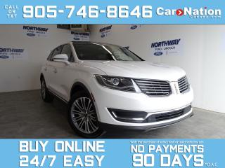 Used 2017 Lincoln MKX RESERVE | AWD | PANO ROOF | NAV | LEATHER for sale in Brantford, ON