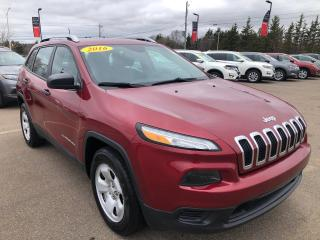 Used 2016 Jeep Cherokee Sport for sale in Charlottetown, PE