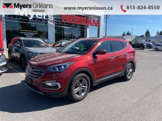 Used 2017 Hyundai Santa Fe Sport Luxury  - Heated Seats - $137 B/W for sale in Orleans, ON