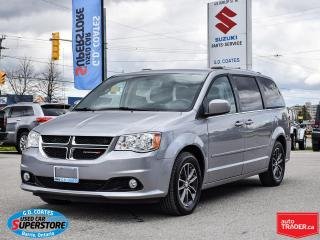 Used 2016 Dodge Grand Caravan SXT Premium Plus ~Nav ~DVD ~Cam ~Full Stow 'N Go for sale in Barrie, ON
