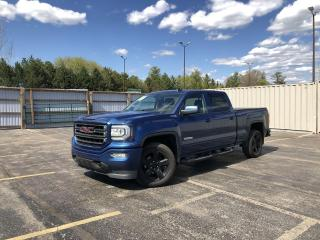 Used 2018 GMC Sierra 1500 SLE ELEVATION CREW Z71 4WD for sale in Cayuga, ON