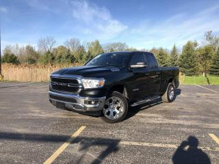 Used 2019 RAM 1500 Big Horn Quad Cab 4WD for sale in Cayuga, ON