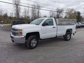 Used 2016 Chevrolet Silverado 2500 HD WORK TRUCK LONG BOX for sale in Madoc, ON