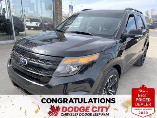 Used 2014 Ford Explorer Sport-4WD,Accident Free,Heated/Cooled Seats for sale in Saskatoon, SK