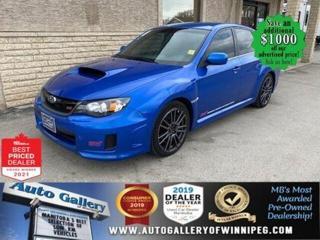 Used 2012 Subaru Impreza WRX STI* Heated Seats/BLUETOOTH/ALL WHEEL DRIVE for sale in Winnipeg, MB