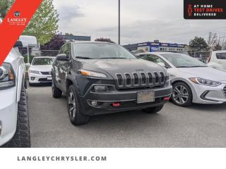Used 2018 Jeep Cherokee Trailhawk  Locally Driven/ Low Km/ AWD/ Tow Pkg for sale in Surrey, BC
