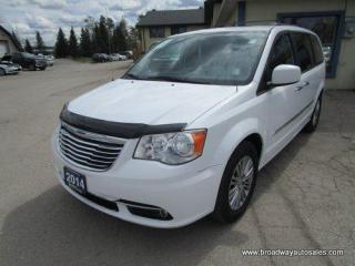 Used 2014 Chrysler Town & Country LOADED TOURING EDITION 7 PASSENGER 3.6L - V6.. CAPTAINS.. STOW-N-GO.. DVD PLAYER.. BACK-UP CAMERA.. LEATHER.. HEATED SEATS.. POWER DOORS & WINDOWS.. for sale in Bradford, ON