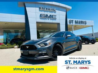 Used 2017 Ford Mustang GT for sale in St. Marys, ON