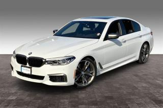 Used 2018 BMW M550 xDrive Sedan for sale in Langley, BC