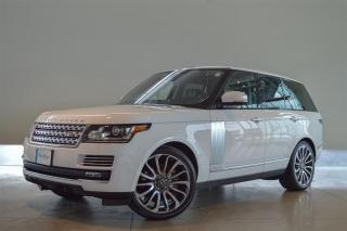 Used 2016 Land Rover Range Rover V8 Autobiography Supercharged SWB (2016.5) for sale in Langley City, BC