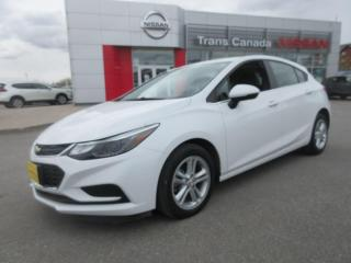 Used 2017 Chevrolet Cruze LT AUTO for sale in Peterborough, ON