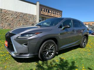 Used 2017 Lexus RX 350 F-SPORT 3 NAVI PANO ROOF HUD 360 CAMERA for sale in North York, ON
