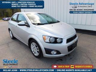 Used 2014 Chevrolet Sonic LT-SUNROOF- FRESH ARRIVAL !!  - KEYLESS ! for sale in Kentville, NS
