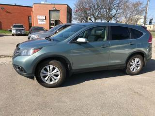 Used 2012 Honda CR-V EXL,AWD,LEATHER,SUNROOF,BACKUP CAM,HEATED SEATS for sale in Toronto, ON