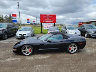 Used 2000 Chevrolet Corvette Convertible for sale in London, ON