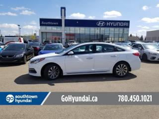 Used 2016 Hyundai Sonata Sport Tech/SUNROOF/HEATED STEEING/BACKUP CAM for sale in Edmonton, AB