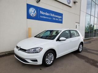 Used 2020 Volkswagen Golf COMFORTLINE - HTD SEATS / ALLOYS / BACKUP CAM / VW CERTIFIED for sale in Edmonton, AB