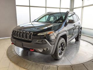 Used 2017 Jeep Cherokee Trailhawk for sale in Edmonton, AB