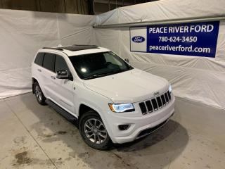 Used 2016 Jeep Grand Cherokee Overland for sale in Peace River, AB