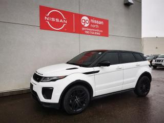 Used 2017 Land Rover Evoque HSE Dynamic / Red Interior / Used Range Rover Dealership / Loaded for sale in Edmonton, AB