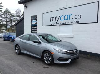 Used 2017 Honda Civic LX HEATED SEATS, BACKUP CAM, BLUETOOTH!! WOW!! for sale in Kingston, ON