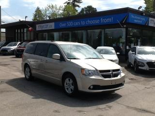 Used 2014 Dodge Grand Caravan Crew LEATHER, HEATED SEATS, ALLOYS, BEAUTIFUL VAN!! for sale in North Bay, ON