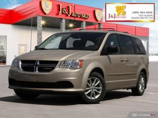 Used 2014 Dodge Grand Caravan SE/SXT for sale in Brandon, MB