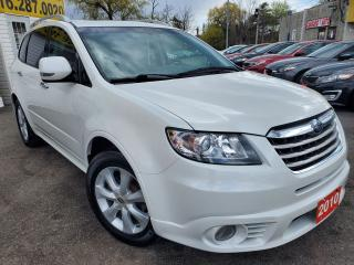 Used 2010 Subaru Tribeca LIMITED/AWD/CAMERA/7PASS/LETHER/ROOF/DVD/ALLOYS++ for sale in Scarborough, ON