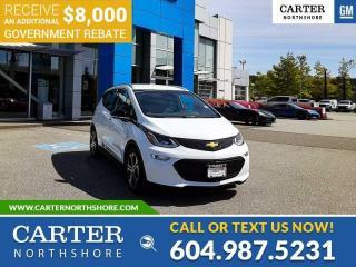 New 2021 Chevrolet Bolt EV Premier *PLUS $8,000 GOV. REBATE!* for sale in North Vancouver, BC